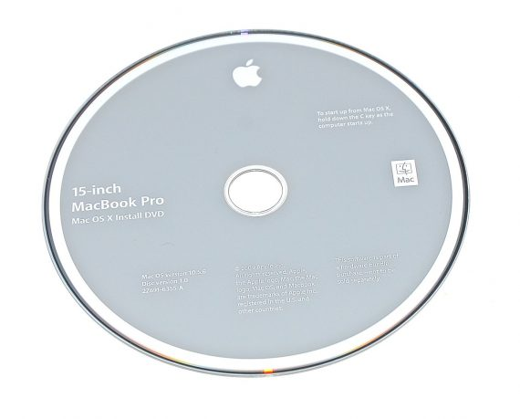 "Original Apple Restore DVD MAC OS X 2009 10.5.6 2Z961-6355-A MacBook Pro 15""-0"