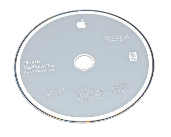"""Original Apple Restore DVD MAC OS X 2009 10.5.6 2Z961-6355-A MacBook Pro 15""""-0"""