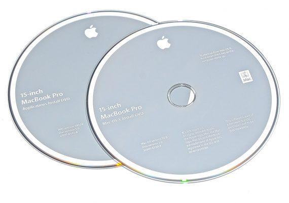 """Original Apple Restore DVD MAC OS X 2009 10.6 2Z961-6530-A MacBook Pro 15""""-0"""