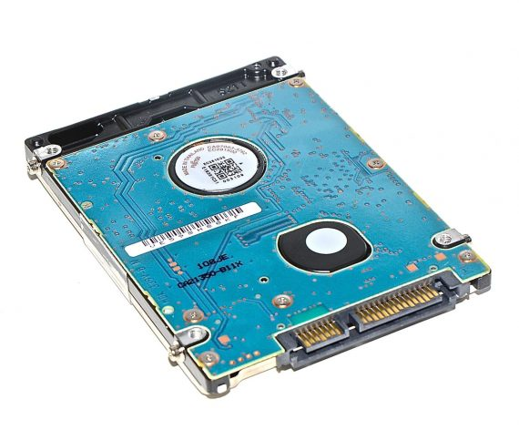 "Festplatte FUJITSU 500GB MJA2500BH 655-1548A MacBook Pro 17"" Model A1297 Early / Mid 2009-7276"