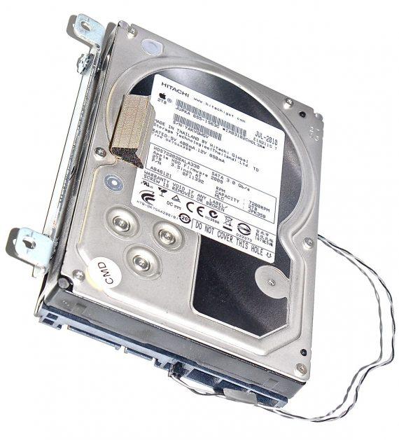 "Festplatte Hitachi 2TB HDS722020ALA330 655-1563C iMac 27"" Mid 2010 A1312-0"