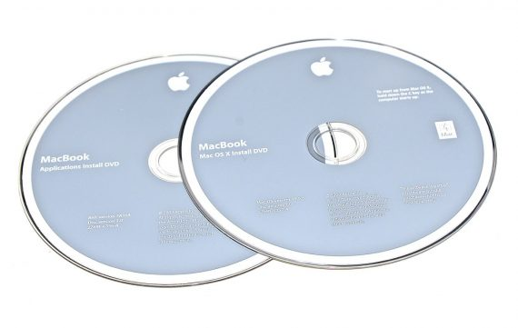 "Apple Restore 2 DVD MAC OS X 10.5.6 MacBook Unibody 13"" Late 2008 / Mid 2008 A1278-0"