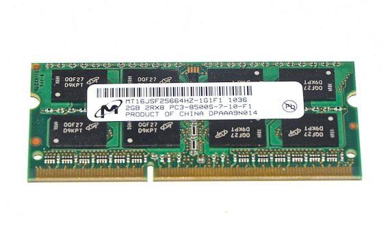 Arbeitsspeicher RAM Micron PC3-8500 DDR3 1066MHz 2GB-0