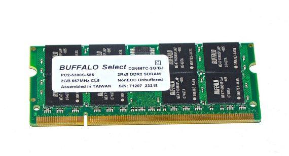 Arbeitsspeicher RAM BUFFALO PC2-5300 DDR2 667MHz 2GB-0