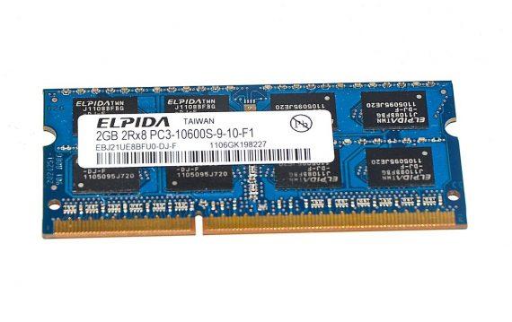 Arbeitsspeicher RAM ELPIDA PC3-10600 DDR3 1333MHz 2GB-0