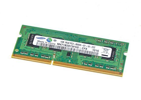 Arbeitsspeicher RAM Samsung PC3-8500 DDR3 1066MHz 1GB-0