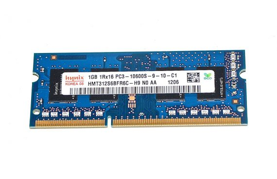 Arbeitsspeicher RAM Hynix PC3-10600 DDR3 1333MHz 1GB-0