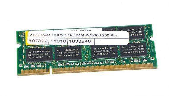 Arbeitsspeicher RAM elixir PC2-5300 DDR2 667MHz 2GB-0