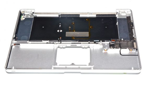 "Topcase & Tastatur Englisch MacBook Pro 17"" Model A1297 Early / Mid 2009-7368"
