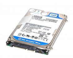 "Original HDD Festplatte Western Digital 500GB WD5000BEVT-35A0RT0 MacBook Pro 15"" Model A1286 Late 2008 / Early 2009-0"