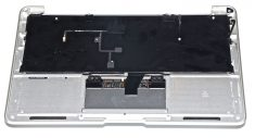 "Original Apple Topcase Tastatur Deutsch Trackpad MacBook Air 11"" Model A1370 Mid 2011 661-6072-7417"