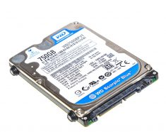 "MacBook Pro 17"" Festplatte 2,5"" SATA Western Digital 750GB WD7500BPVT Model A1212-0"
