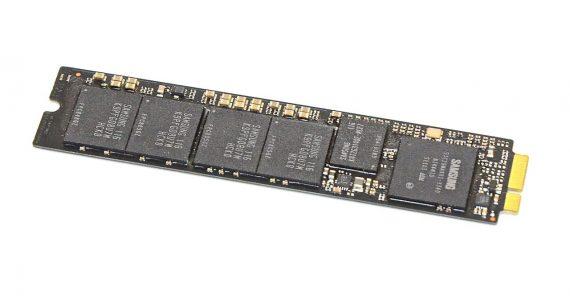 "Original Apple Festplatte Samsung 256GB MZ-CPA2560/0A2 655-1665A MacBook Air 11"" 13"" A1369 / A1370 -7600"