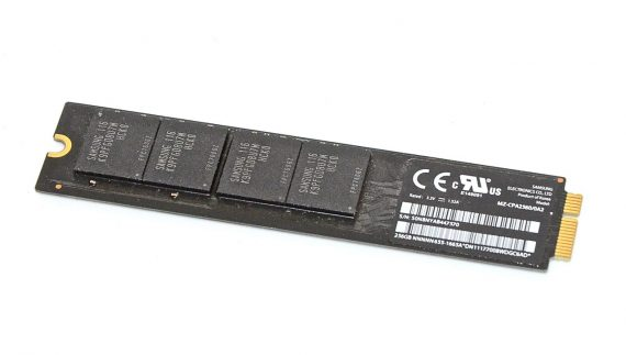 "Original Apple Festplatte Samsung 256GB MZ-CPA2560/0A2 655-1665A MacBook Air 11"" 13"" A1369 / A1370 -0"