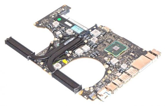 "Original Apple Logicboard Mainboard 2,53GHz i5 820-2850-A MacBook Pro Unibody 15"" Mid 2010 A1286 -7713"