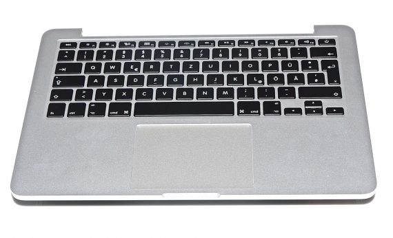 "Original Apple Topcase & Trackpad & Tastatur Deutsch mit Akku MacBook Pro 13"" Retina A1502 Mid 2014-0"