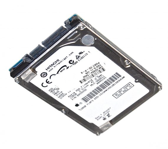 """Festplatte 2,5"""" SATA Hitachi 120GB 655-1515A Mac Mini A1283 Late 2009-0"""