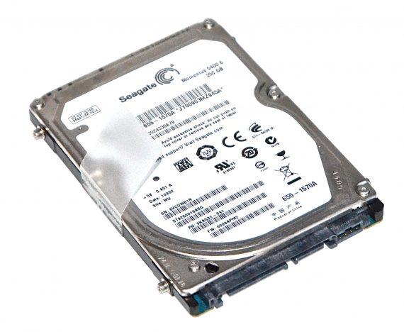 "Original Apple Festplatte 2,5"" SATA Seagate 250GB 655-1570A MacBook Pro 13"" A1278 ( Mid 2009 / Mid 2010 ) -0"
