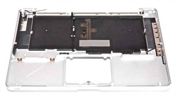 "Original Apple Topcase & Tastatur Italienisch QWERTY MacBook Pro Unibody 15"" Early 2011 / Late 2011 A1286-7876"