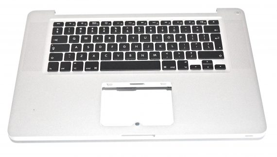 "Original Apple Topcase & Tastatur Italienisch QWERTY MacBook Pro Unibody 15"" Early 2011 / Late 2011 A1286-0"