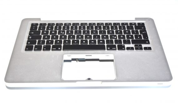 "Original Apple Topcase & Tastatur Deutsch MacBook Pro 13"" Mid 2012 Model A1278-0"