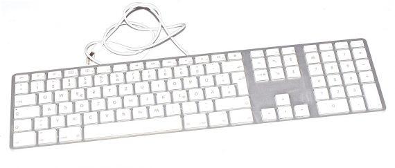 """Apple ALU Tastatur Deutsch USB mit Ziffernblock A1243 iMac 27"""" A1312-0"""