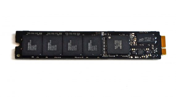 "Original Toshiba 128GB SSD THNSNC128GMDJ 655-1634B MacBook Air 11"" 13"" A1369 A1370 Late 2010 / Mid 2011 -7937"