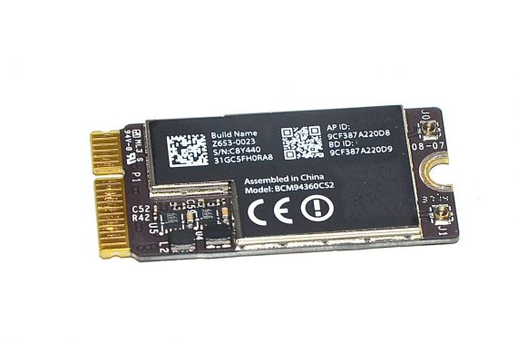 "Original Apple AirPort / Bluetooth Board Karte BCM94360CS2 Z653-0023 MacBook Air 13"" Model A1466 Early 2015-0"