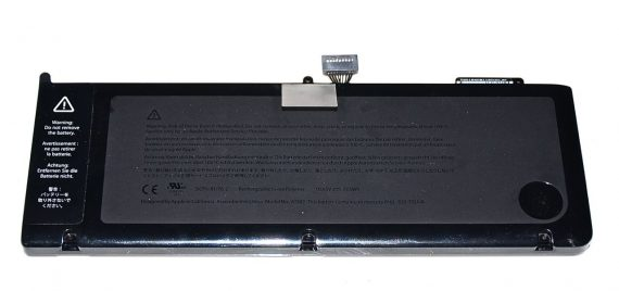 "Original Apple Akku / Battery Model A1382 für MacBook Pro 15"" Unibody Model A1286 2011 / 2012-0"